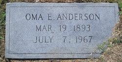 Oma E. Omie Anderson