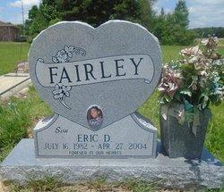 Eric D Fairley