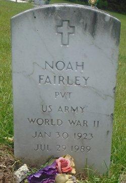 Pvt Noah Fairley