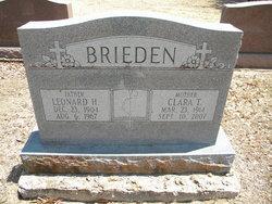 Clara T. <i>Day</i> Brieden