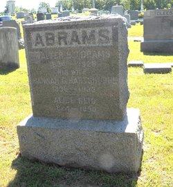 Hannah C <i>Hartshorne</i> Abrams