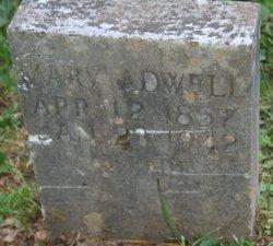 Mary Alph <i>Hood</i> Adwell