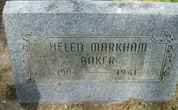 Helen <i>Markham</i> Baker