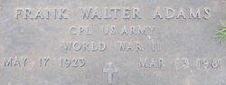 Frank Walter Adams