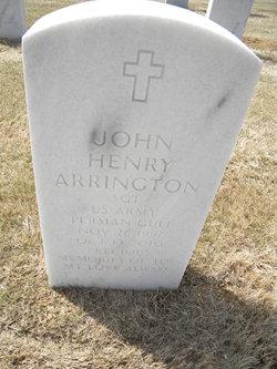 Sgt John Henry Arrington