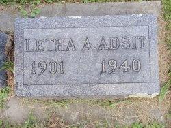 Letha Ariel <i>Bayne</i> Adsit