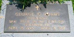 Spec George Gayral Adams