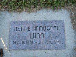 Nettie Immogene <i>Winn</i> Campbell