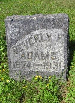 Beverly Fletcher Adams