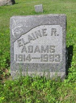 Elaine R Adams