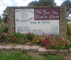 Mount Zion Ora Baptist Church Cemetery