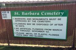 Saint Barbaras Cemetery