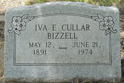 Iva E <i>Bizzell</i> Cullar