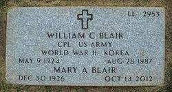 Mary Alene <i>Sadler</i> Blair