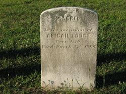 Abigail <i>Horner</i> Lodge