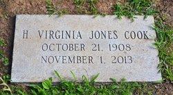 Virginia <i>Jones</i> Cook
