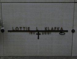 Lottie <i>Krzewina</i> Klafka