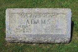 Jessie May <i>Mackin</i> Adams