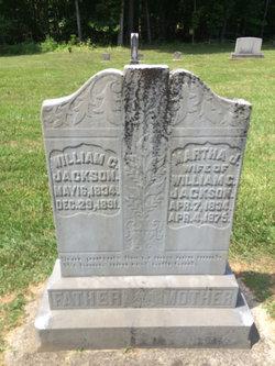 Martha Jane <i>Wilkerson</i> Jackson