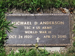 Michael D Anderson