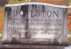Elizabeth Pauling Betty <i>Spigner</i> Boylston