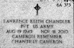 Lawrence Keith Chandler
