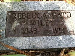 Rebecca <i>Cato</i> Wiley