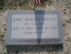 Earl McAlan Greene, Sr