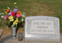Ethel Mae <i>Fort</i> Anderson