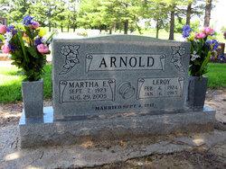 Martha E. <i>Rice</i> Arnold