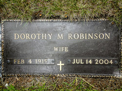 Dorothy Madaline <i>Solberg</i> Robinson