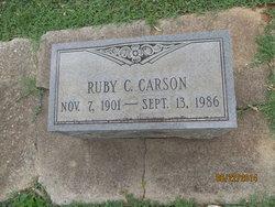 Ruby <i>Chick</i> Carson