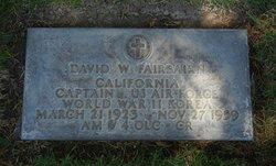 Capt David William Fairbairn