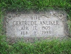 Gertrude <i>Kuebler</i> Anliker