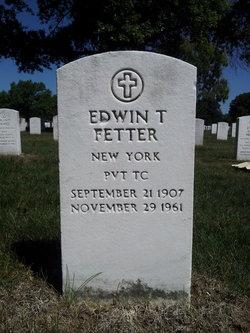 Edwin T Fetter