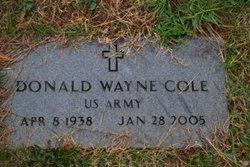 Donald W Cole