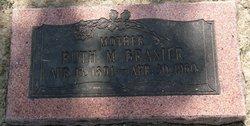 Ruth Martha Tots <i>Reeves</i> Brasier