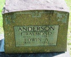 Edwin A Anderson