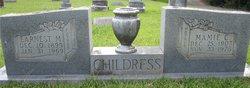 Mamie Clara <i>Allen</i> Childress