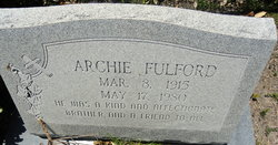 Archie Fulford