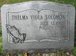 Thelma Viola <i>Baker</i> Solomon