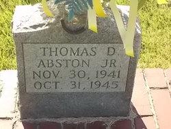 Thomas D. Abston, Jr