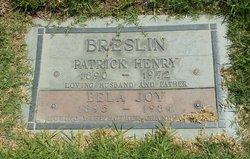 Patrick Henry Breslin