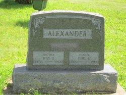 May Eleanor <i>Waltz</i> Alexander