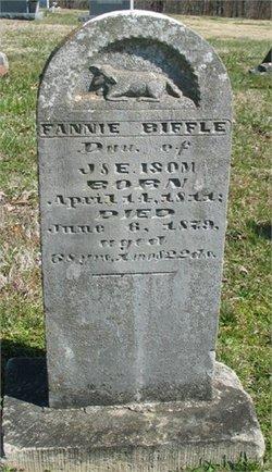 Frances Fannie <i>Isom</i> Biffle