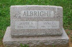 Anna O Albright
