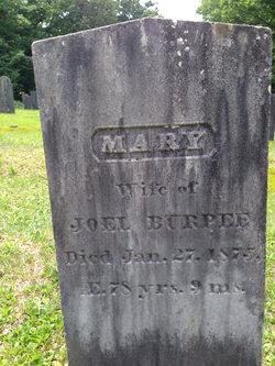 Mary <i>Sargent</i> Burpee