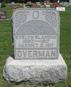 Evelyn Blanche <i>Ballard</i> Overman