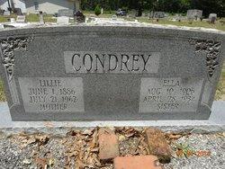Lillie <i>Adams</i> Condrey