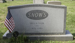 Cora <i>Tarbox</i> Snow